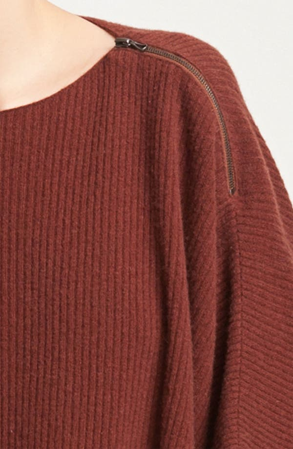Alternate Image 3  - Vince Ribbed Poncho Sweater