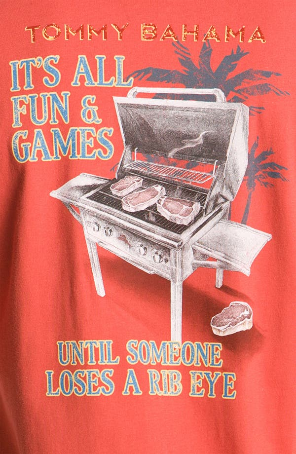 Alternate Image 3  - Tommy Bahama 'It's All Fun & Games' Crewneck T-Shirt