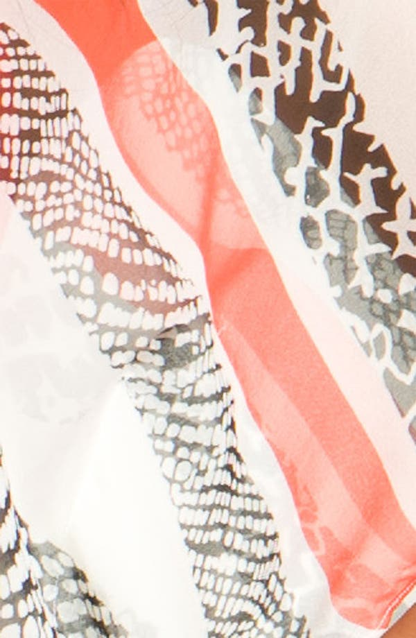 Alternate Image 3  - ViX Swimwear 'Leblon Lina' Silk Caftan Cover-Up