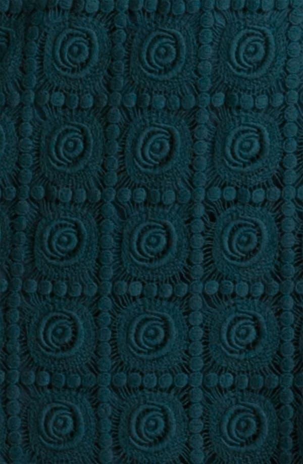 Alternate Image 3  - Suzi Chin for Maggy Boutique Crochet Shift Dress