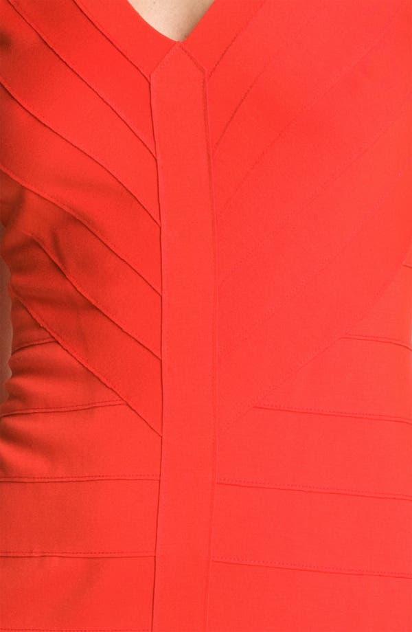 Alternate Image 3  - BB Dakota V-Neck Banded Ponte Sheath Dress