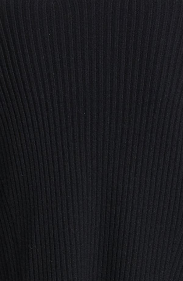 Alternate Image 3  - Donna Karan Collection Leather Sleeve Knit Cozy