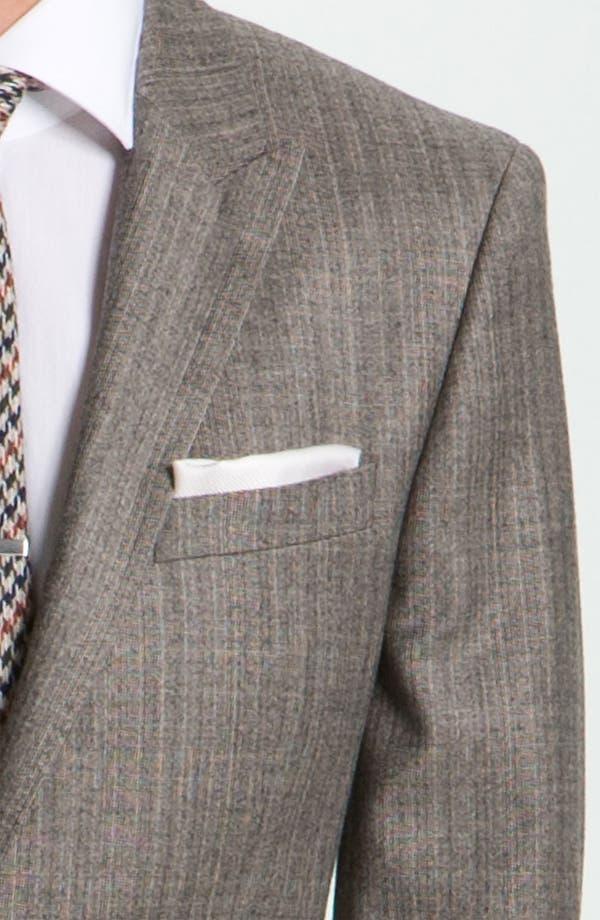 Alternate Image 6  - BOSS Black 'Hold Genius' Trim Fit Plaid Suit