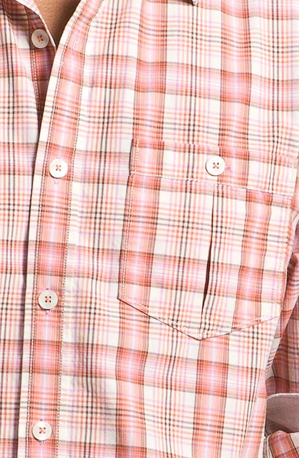Alternate Image 3  - Tommy Bahama Denim 'Peachy Plaid' Sport Shirt