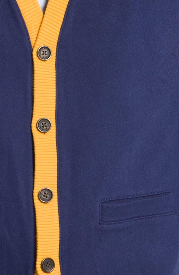 Alternate Image 3  - Brooks Brothers 'Varsity' Cardigan
