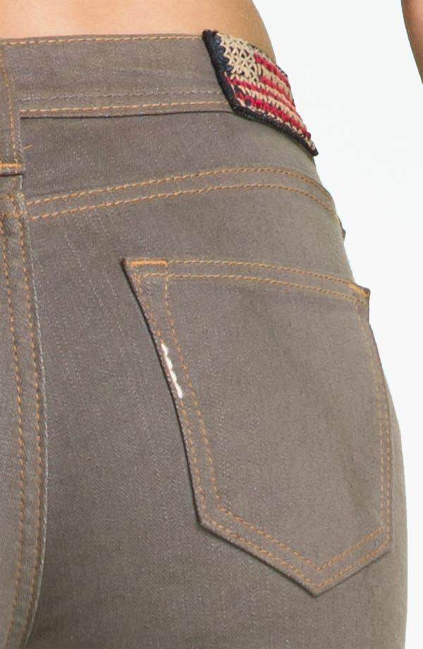 Alternate Image 3  - True Religion Brand Jeans 'Halle' Skinny Stretch Jeans (Dark Storm)