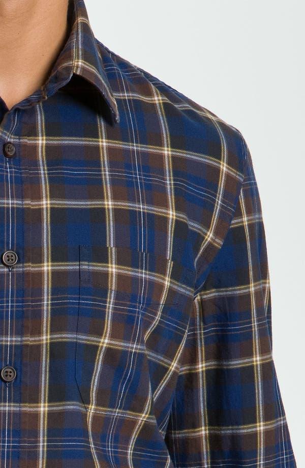 Alternate Image 3  - Wallin & Bros. Plaid Sport Shirt