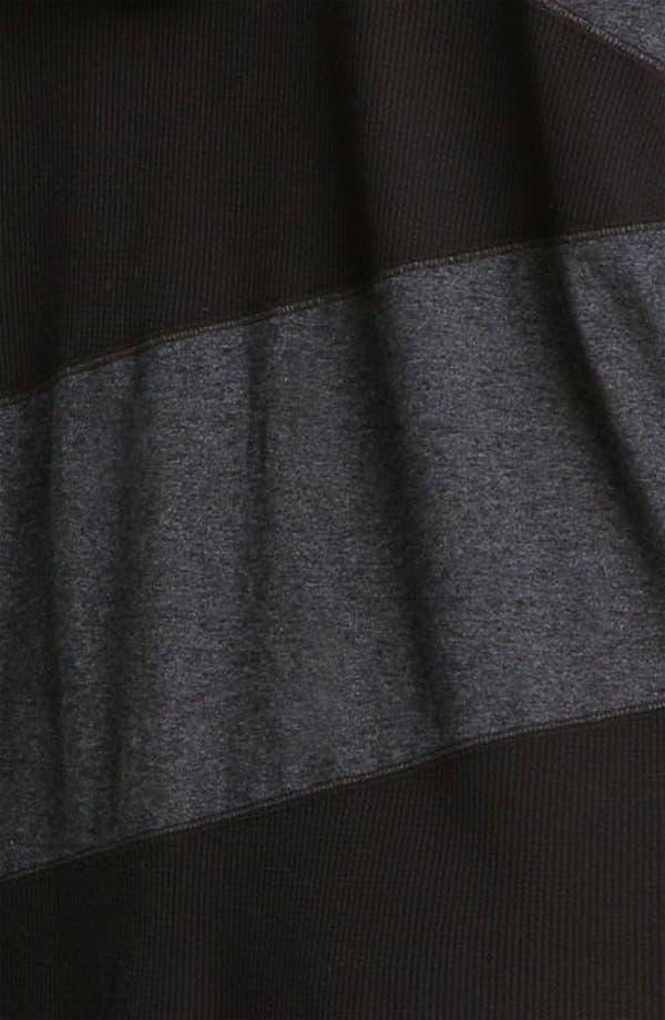 Alternate Image 3  - Allen Allen Patchwork Knit Jacket (Plus)