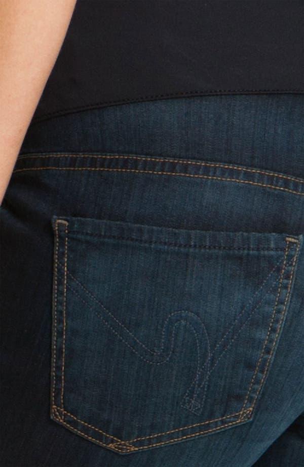 Alternate Image 3  - Citizens of Humanity 'Thompson' Maternity Skinny Jeans (Faith)