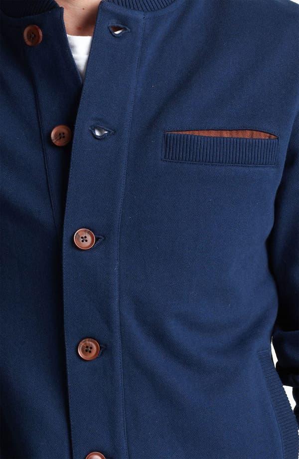 Alternate Image 3  - Topman 'North Shore' Jersey Knit Bomber Jacket