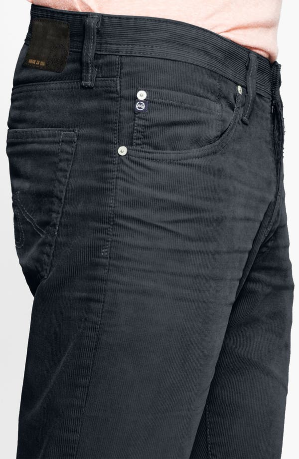 Alternate Image 4  - AG Jeans Straight Leg Corduroy Pants