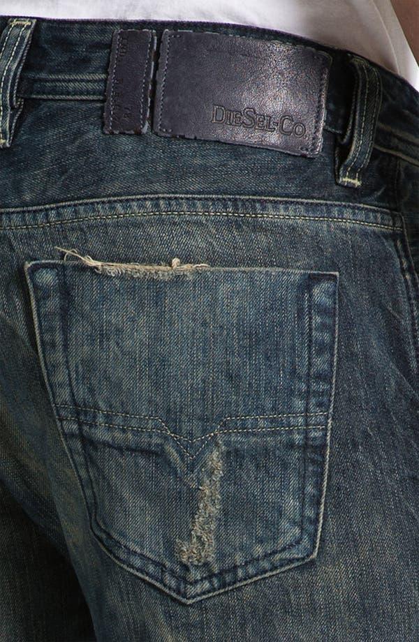 Alternate Image 4  - DIESEL® 'Viker' Straight Leg Jeans
