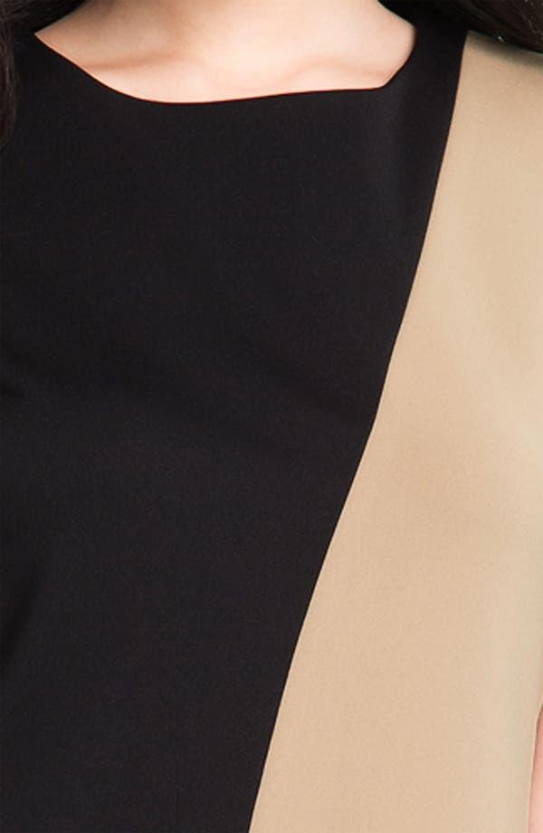 Alternate Image 3  - Calvin Klein Colorblock Sheath Dress