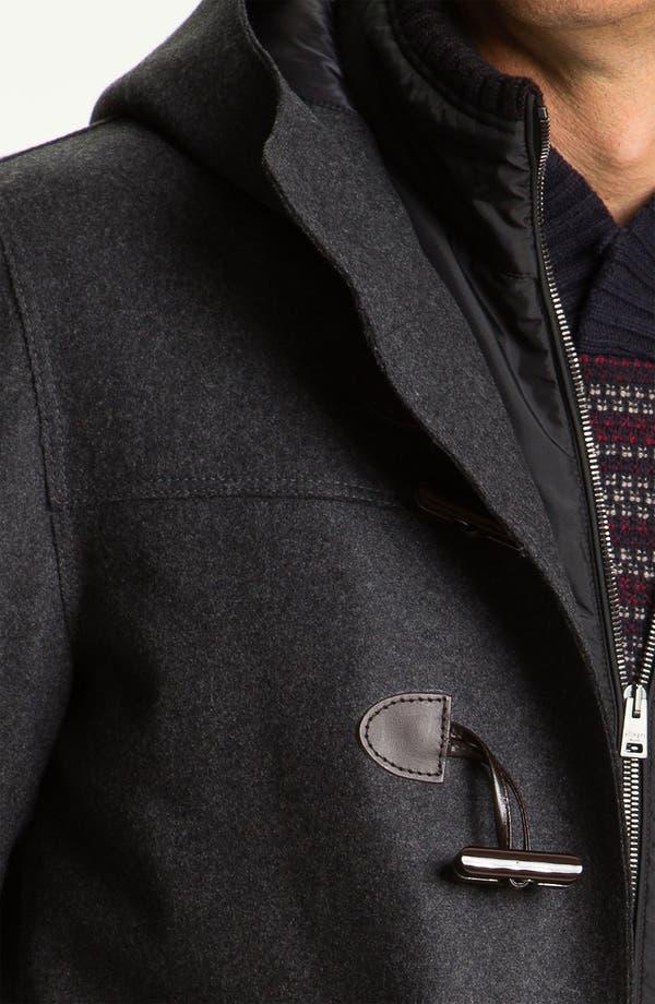 Alternate Image 3  - Allegri Wool Blend Caban Coat
