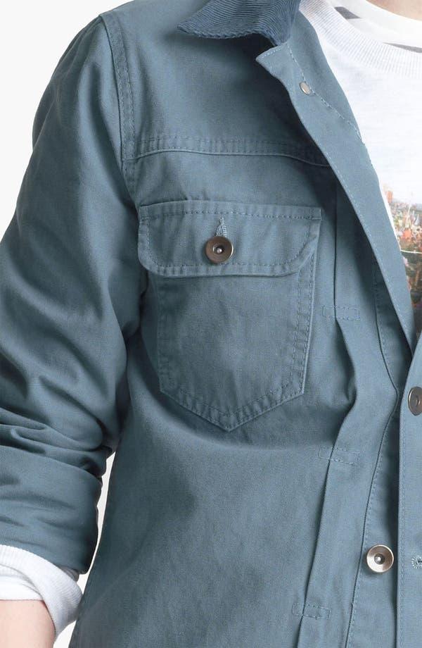 Alternate Image 3  - Topman Corduroy Collar Denim Jacket