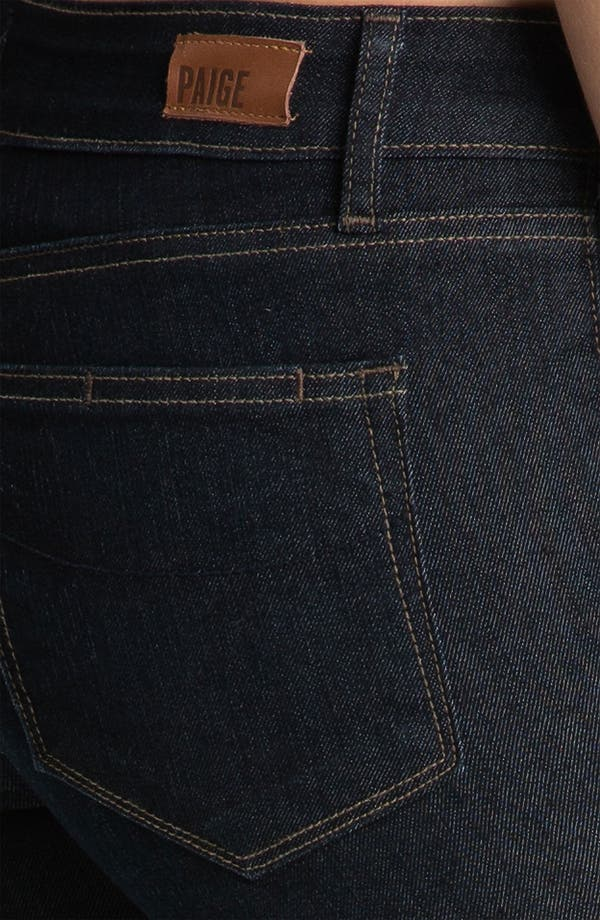Alternate Image 3  - Paige Denim 'Verdugo' Stretch Skinny Jeans (Dark Blue)