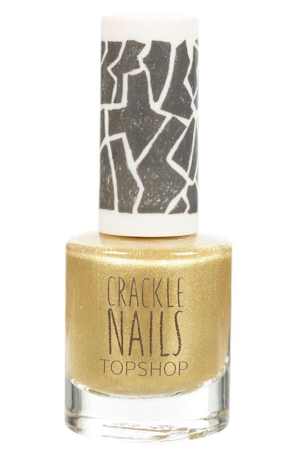 Alternate Image 1 Selected - Topshop 'Crackle' Nail Polish