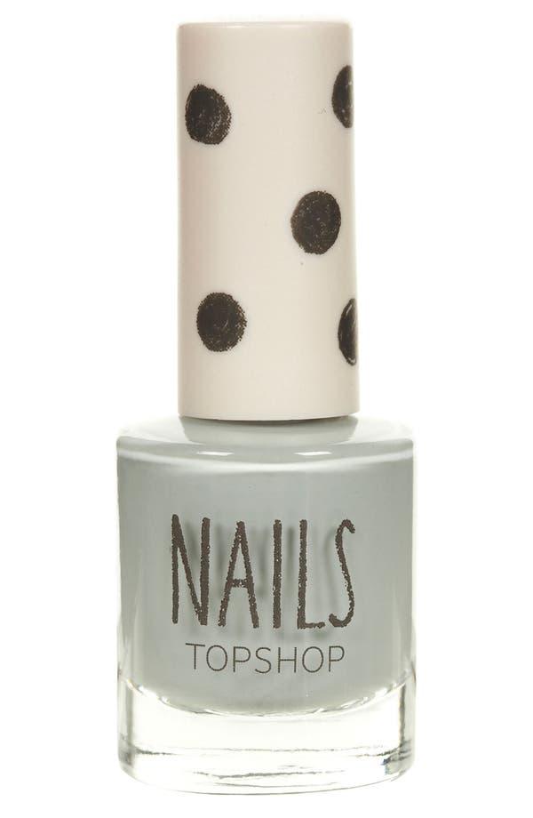 Alternate Image 1 Selected - Topshop 'Cream' Nail Polish