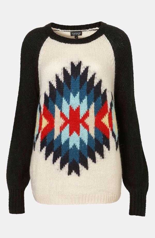 Main Image - Topshop 'Eye Dazzler' Sweater