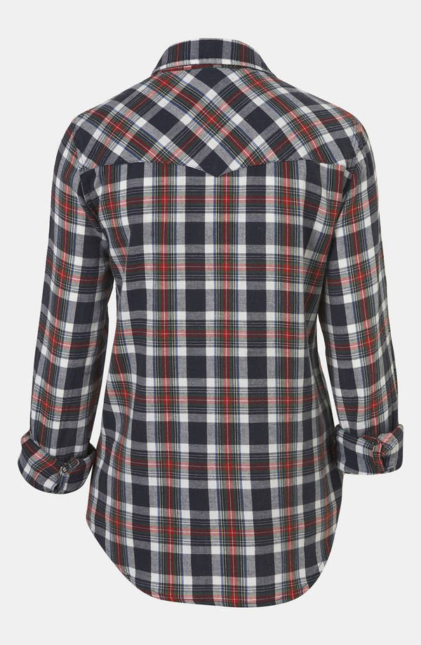 Alternate Image 2  - Topshop 'Glasgow' Plaid Shirt