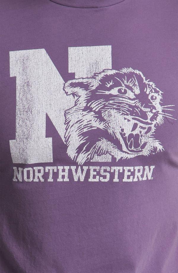Alternate Image 3  - The Original Retro Brand 'Northwestern Wildcats' T-Shirt