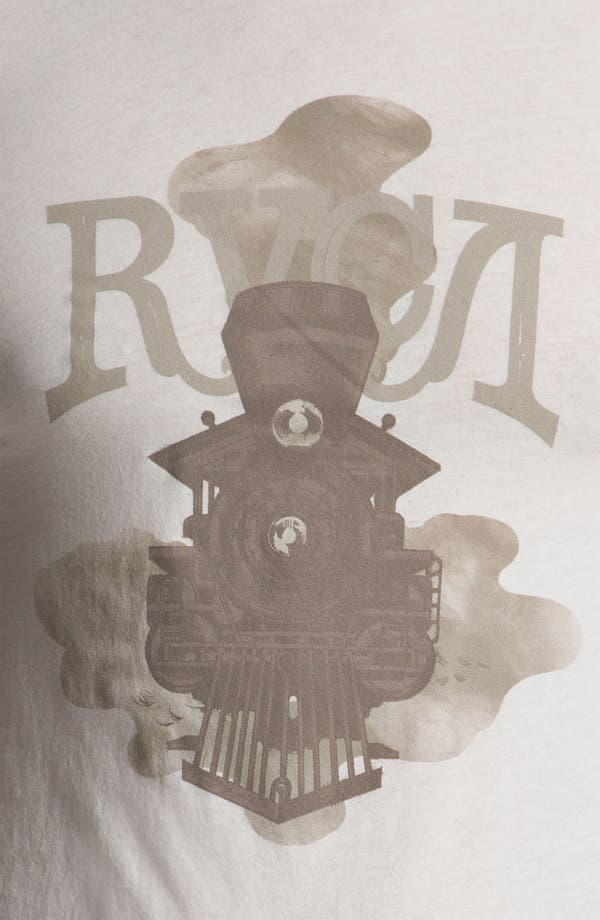 Alternate Image 3  - RVCA 'Locomotive' Vintage Wash T-Shirt