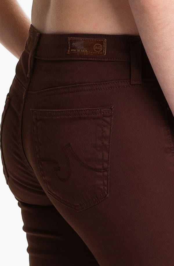 Alternate Image 3  - AG 'Stilt' Skinny Ankle Jeans (Raisin)