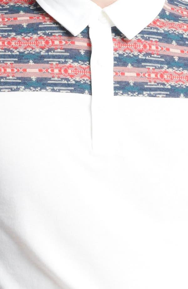 Alternate Image 3  - Topman Pattern Yoke Polo