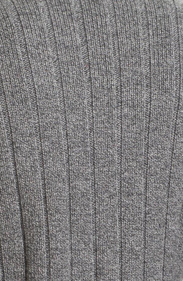 Alternate Image 3  - Façonnable Tailored Denim Shawl Collar Merino Wool Cardigan