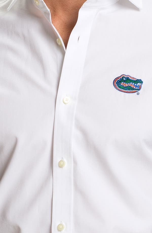 Alternate Image 3  - Thomas Dean 'University of Florida' Regular Fit Sport Shirt