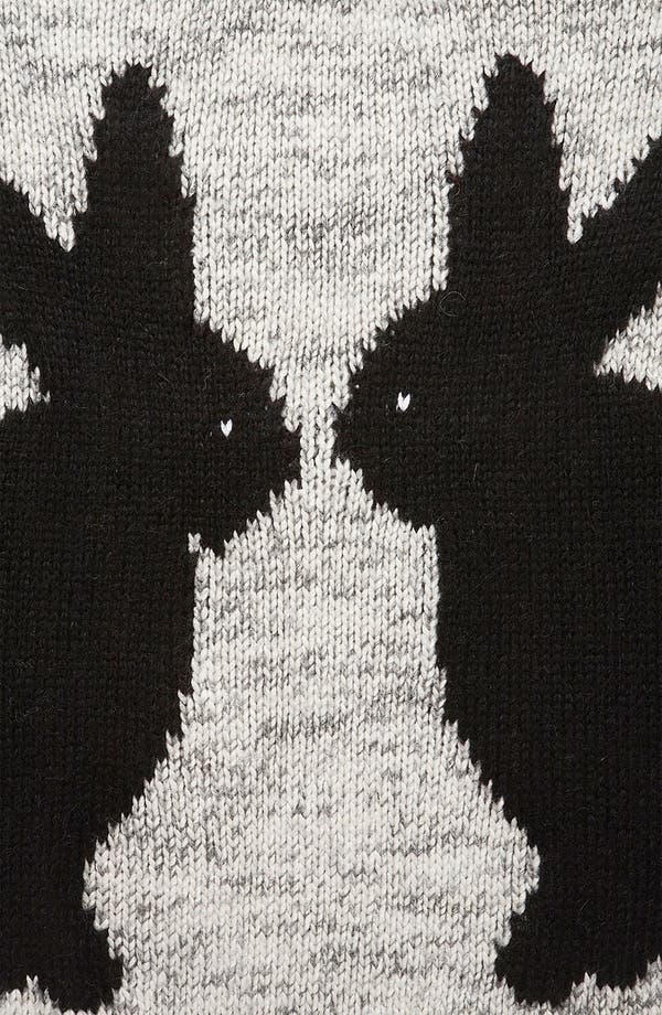 Alternate Image 3  - Topshop 'Mirror Bunnies' Sweater (Petite)