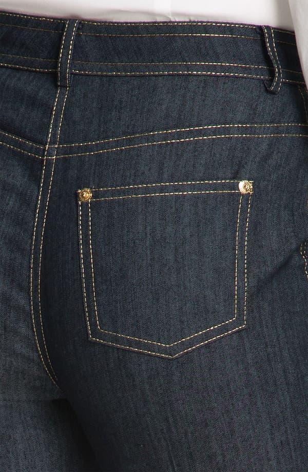 Alternate Image 5  - St. John Collection Lightweight Denim Crop Pants