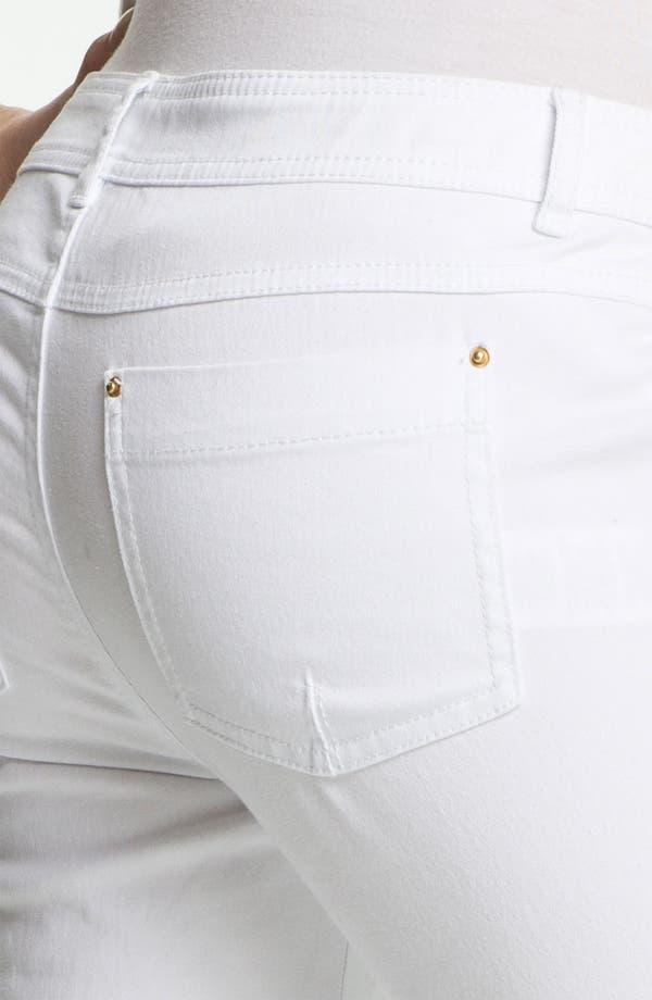 Alternate Image 3  - Rachel Zoe 'Julie' Zip Detail Skinny Stretch Jeans