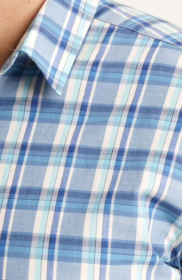 Alternate Image 3  - PS Paul Smith Slim Fit Plaid Woven Shirt