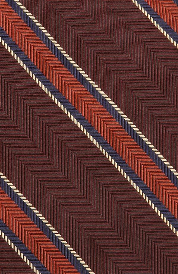 Alternate Image 2  - Brooks Brothers Woven Silk Tie