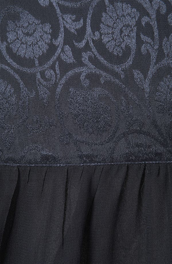 Alternate Image 3  - Topshop Jacquard Tiered Midi Skirt