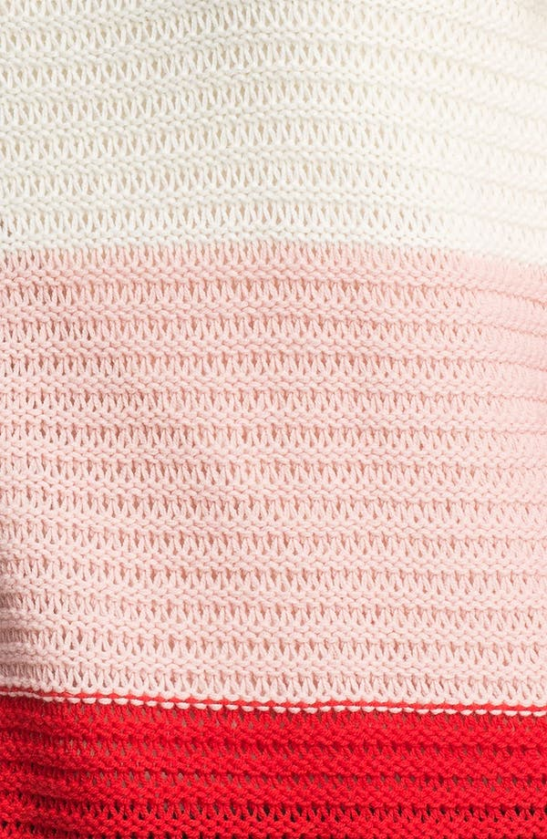 Alternate Image 3  - Vince Camuto Wide Stripe Sweater