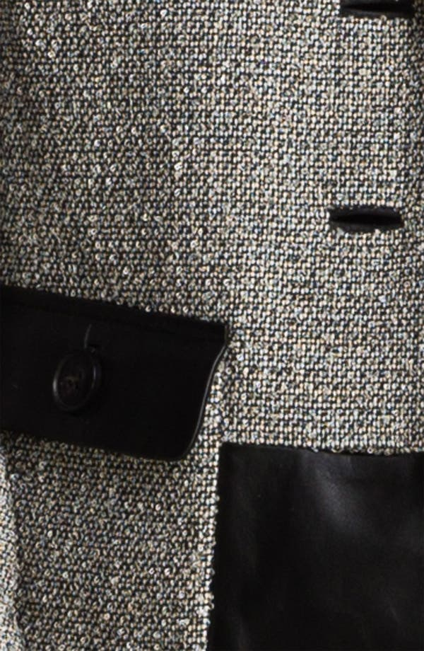 Alternate Image 3  - Lafayette 148 New York 'Betty' Leather Trim Jacket