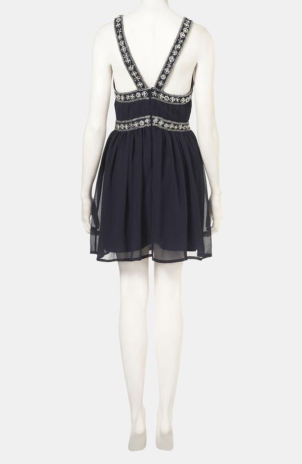 Alternate Image 2  - Topshop Embellished Goddess Dress