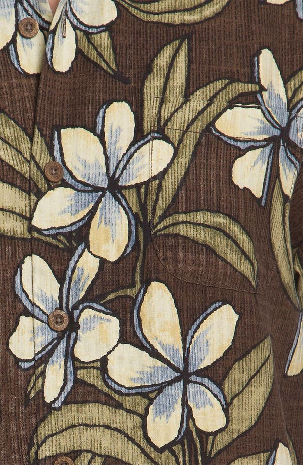 Alternate Image 3  - Tommy Bahama 'Coconut Retreat' Silk Campshirt