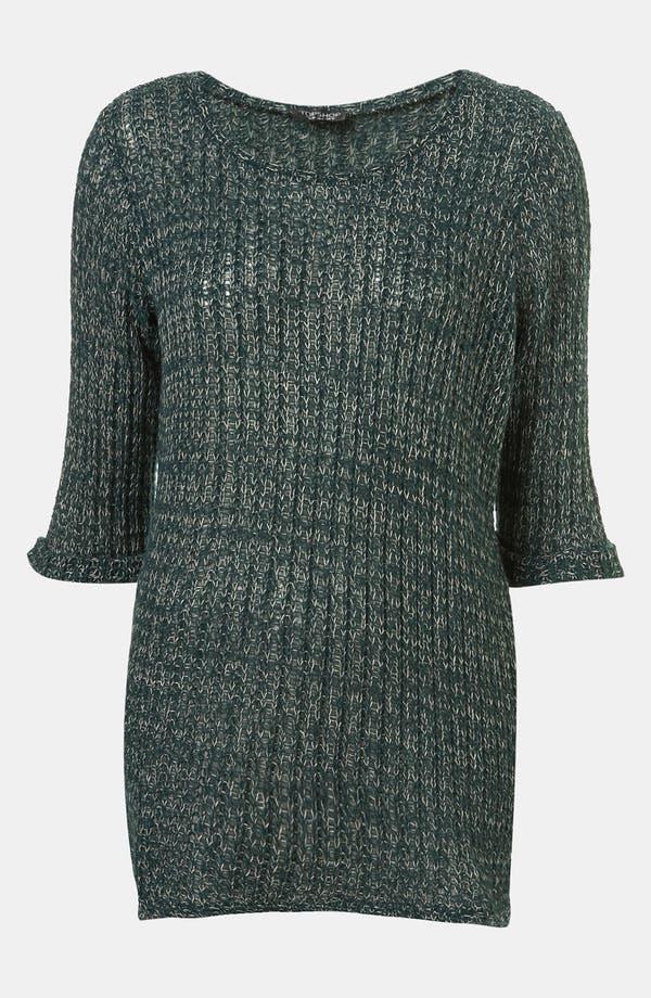 Alternate Image 1 Selected - Topshop 'Fisherman Text' Sweater