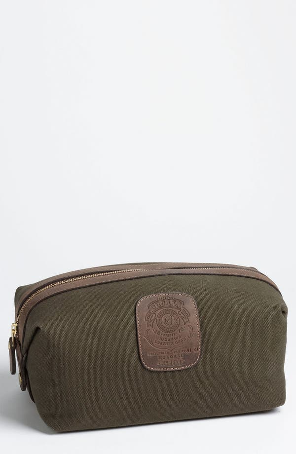 Alternate Image 1 Selected - Ghurka 'Holdall' Cotton Canvas Grooming Case