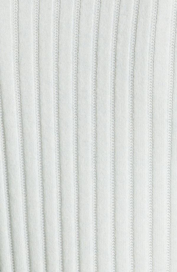 Alternate Image 5  - St. John Yellow Label Piqué & Rib Knit Cashmere Shell