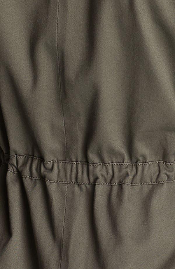Alternate Image 3  - Sanctuary Faux Leather Sleeve Army Jacket