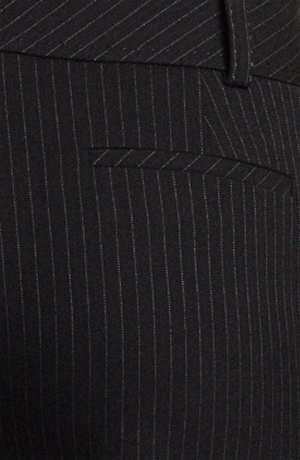 Alternate Image 3  - Halogen® 'Taylor' Curvy Fit Pinstripe Pants