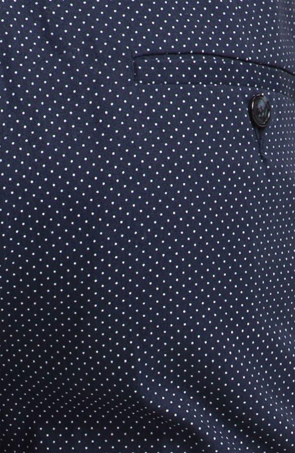 Alternate Image 3  - Topman Pin Dot Skinny Fit Trousers