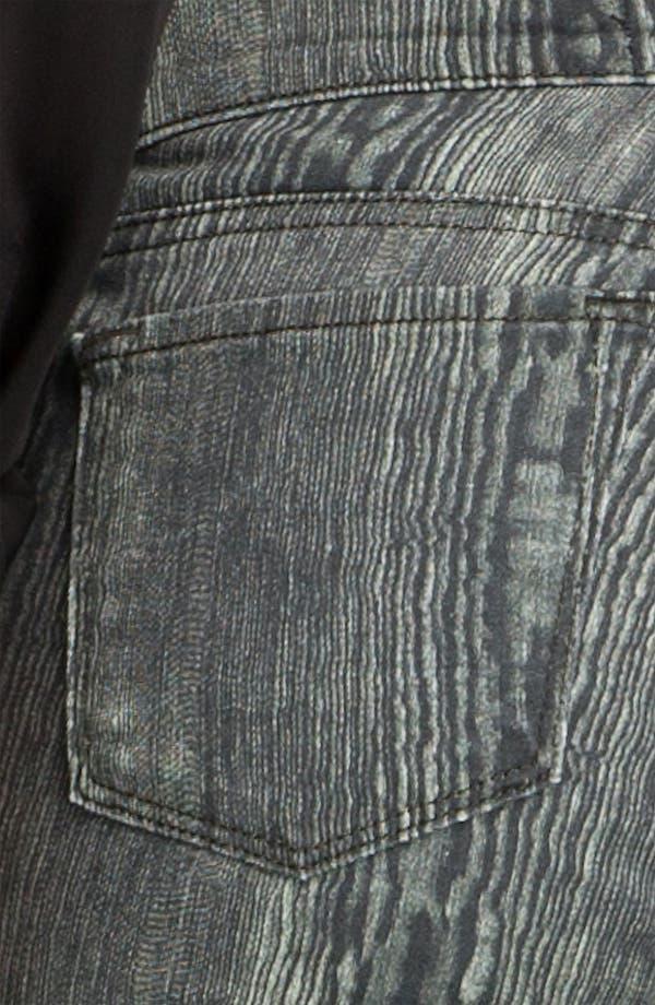 Alternate Image 3  - J Brand Print Denim Leggings (Woodgrain)