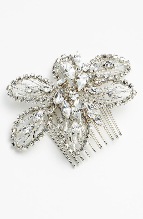 Alternate Image 2  - Nina 'Danai' Flower Crystal Hair Comb