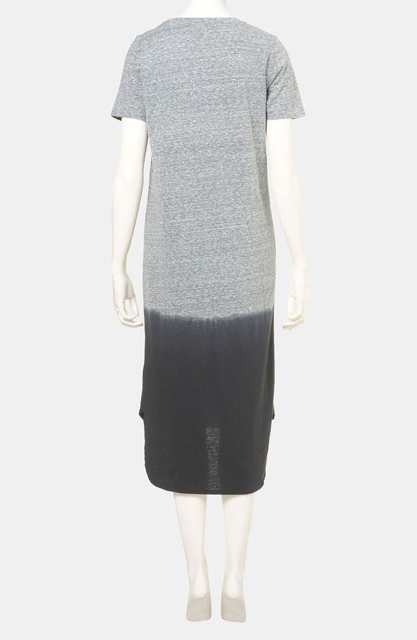 Alternate Image 2  - Topshop Dip Dye T-Shirt Dress