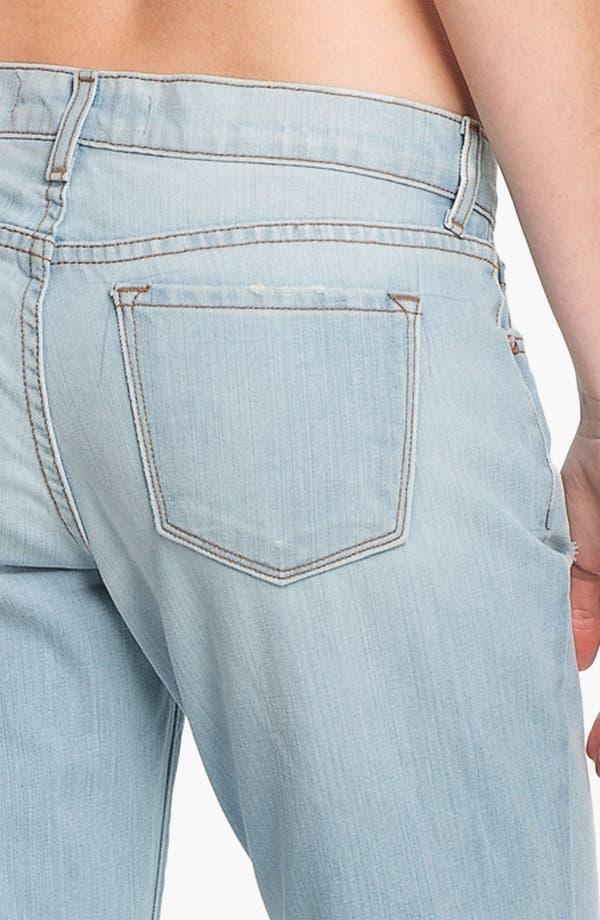 Alternate Image 3  - J Brand 'Aidan' Distressed Boyfriend Fit Jeans (Illusion Destruct)